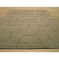 Hand Tufted Santana Abstract Wool Rug (5' x 8')
