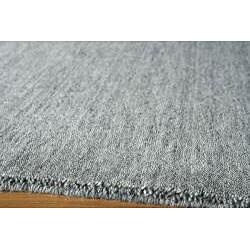 Hand-loomed Loft Gabbeh Grey Rug (2' x 3')