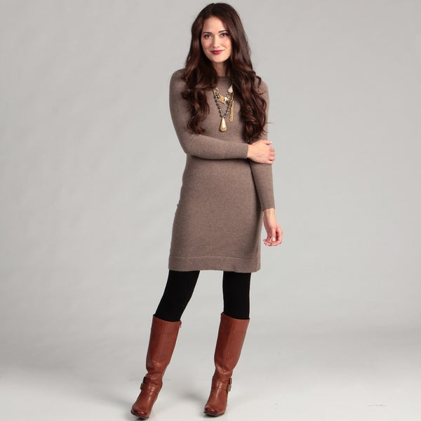 Sweater Dress j Crew Crew Neck Sweater Dress
