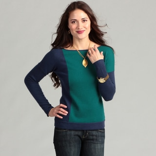 Cullen Women's Cashmere Long-sleeve Boat Neck Sweater