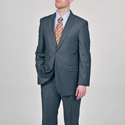Caravelli Italy Men's 'Superior 150' Grey 2-button Suit