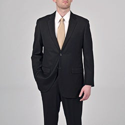 Caravelli Men's Black 2-button Suit