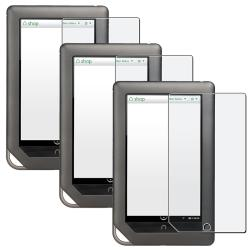 Anti-Glare Screen Protector for Barnes and Noble Nook Tablet (Pack of 3)