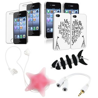 Cases/ Screen Protectors/ Wrap/ Audio Splitter for Apple iPhone 4S