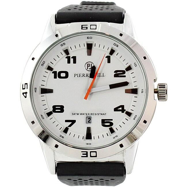 Pierre Jill Men's Effortless Black Watch