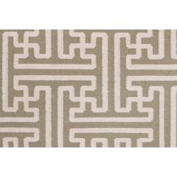 Hand-woven Altanus Wool Rug (8' x 11')