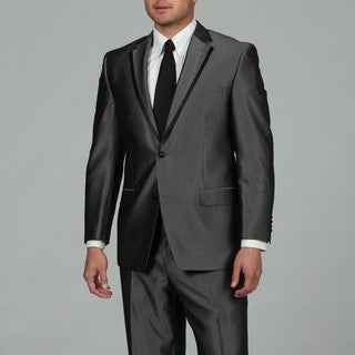 Sean John Men's Grey 2-button Tuxedo