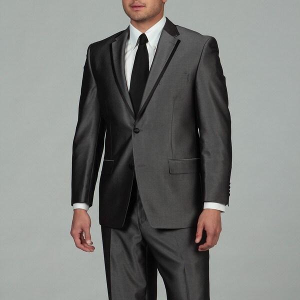 Sean John Men's Grey 2-button Tuxedo