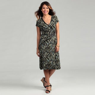 Connected Apparel Women's Sage Sunburst Dress