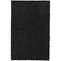Mohawk Home Solid Black Shag Rug (2' x 3'4)