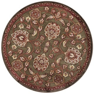 Madison Brown / Rust Rug (3'10 round)