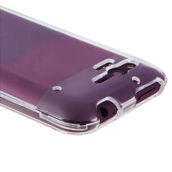 Clear Snap-on Crystal Case for HTC Rhyme