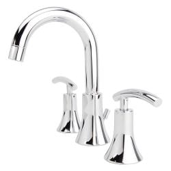 Fontaine Vincennes Chrome Widespread Bathroom Faucet
