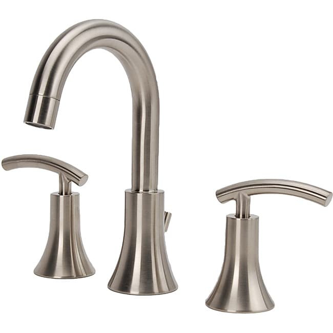 Bathroom Faucets Brushed Nickel Widespread : ... Vincennes Single-handle Brushed Nickel Kitchen Faucet with Side Spray