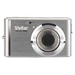 Vivitar ViviCam S325 16.1MP Silver Digital Camera