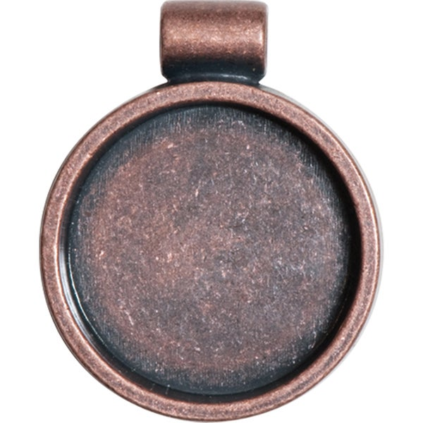 Lisa PavelkaAntique Copper Round Bezel