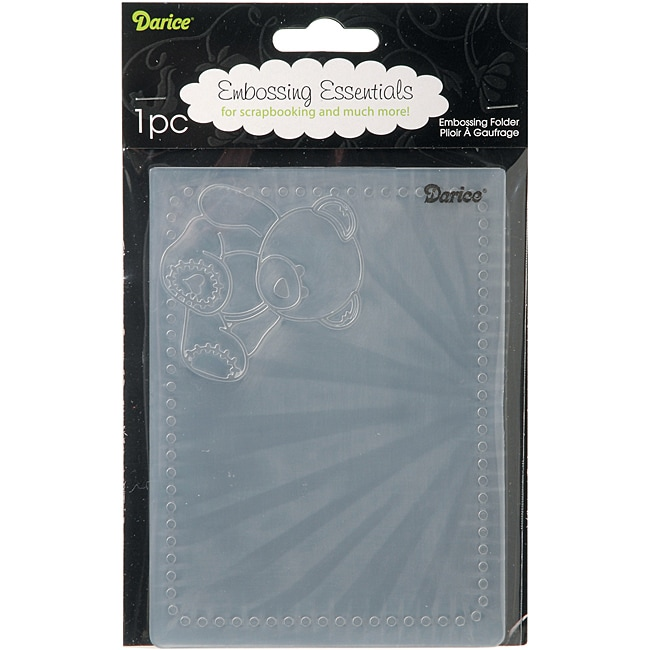 Darice 'Baby Bear' Embossing Folder