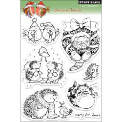 Penny Black 'Christmas Friends' Clear Stamps Sheet
