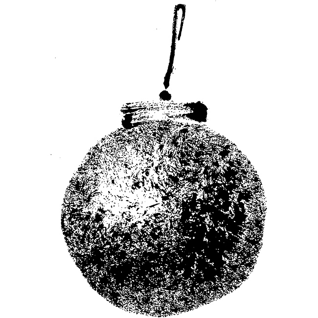 Penny Black 'Christmas Orb' Rubber Stamp