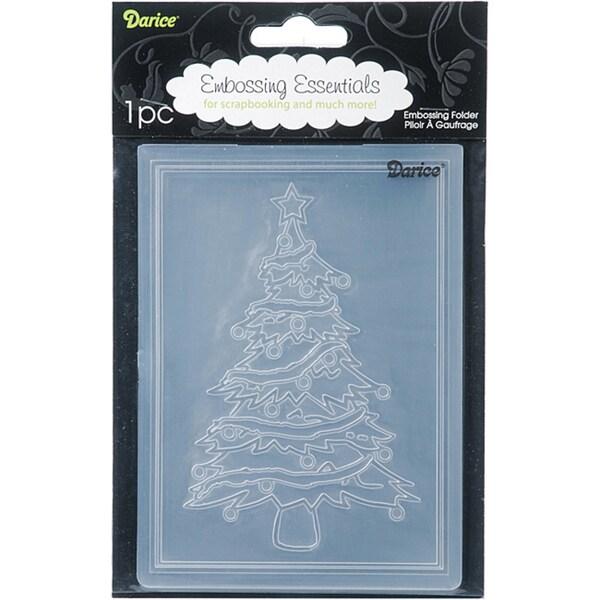 Darice Christmas Tree Embossing Folder