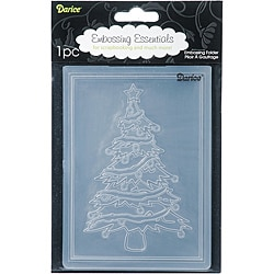 Darice Christmas Tree Embossing Folder