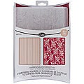 Sizzix Textured Impressions 'Botanicals/ Beaded Ribbons' Embossing Folders (Pack of 2)