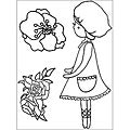 Kaisercraft Lil' Primrose 'Blooms' Clear Stamps