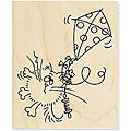 Stampendous 'Bad Day 4 Fluffles' Mounted Rubber Stamp