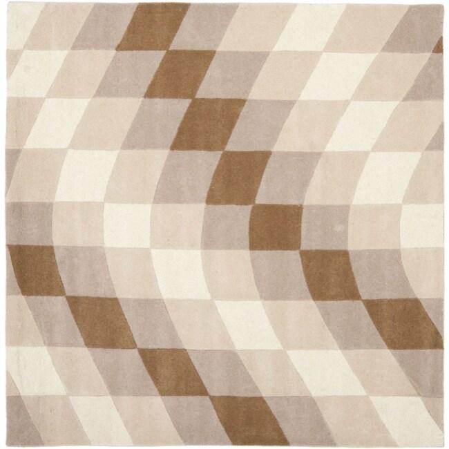 Safavieh Handmade Soho Prism Modern Abstract Wool Rug