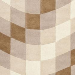 Handmade Soho Prism New Zealand Wool Rug (3'6 x 5'6')