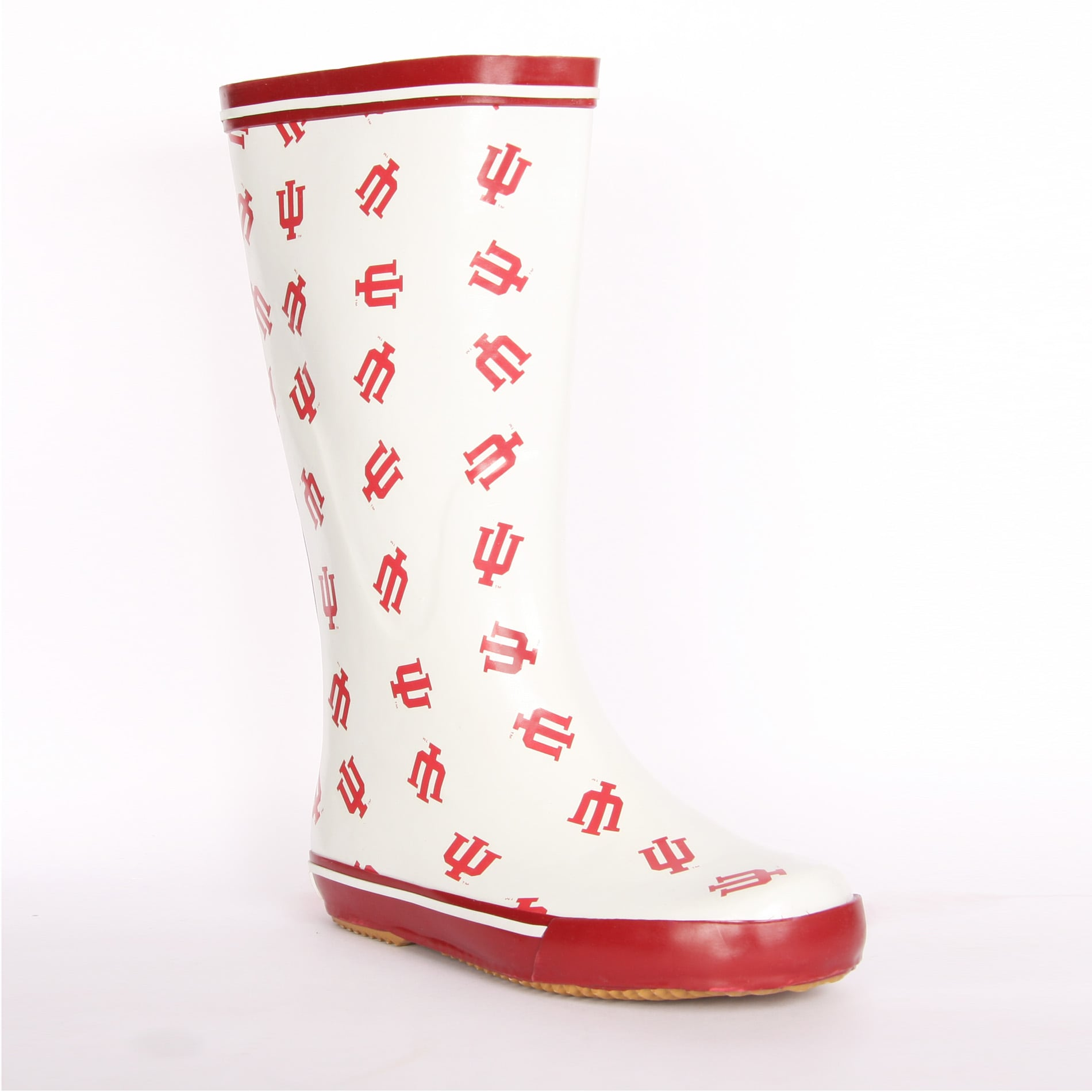 Indiana Hoosiers Women's Scattered Logo Rain Boots