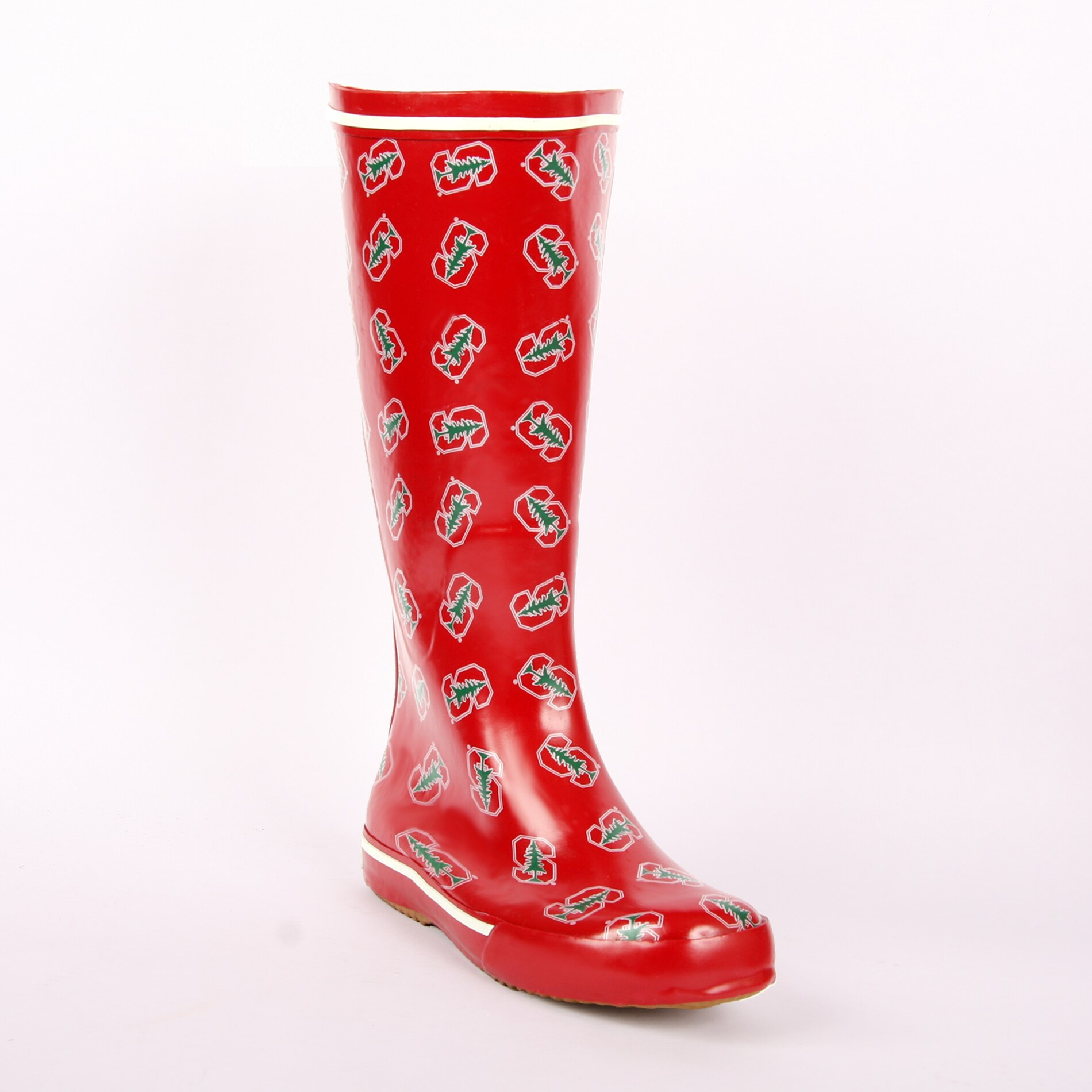 Stanford Cardinals Women's Scattered Logo Rain Boots
