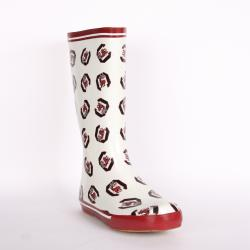 South Carolina Gamecock Women's Scattered Logo Rain Boots