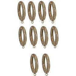 Menagerie Compatible 1 3/8-inch Smooth Rings (Set of 10)