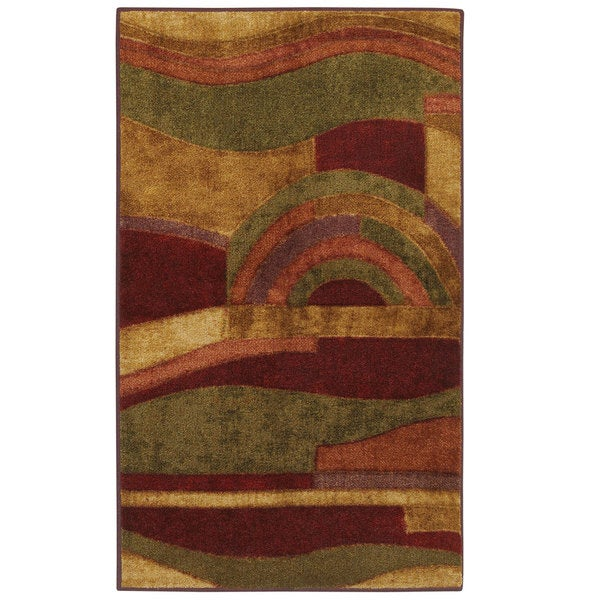 Mohawk Home Picasso Multi Contemporary Rug (3'9 x 5'8)