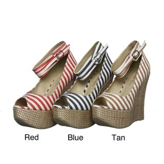 Two Lips 'Too Dash' Wedge Sandals