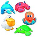 Munchkin Sea Squirts Bath Toys (Pack of 5)