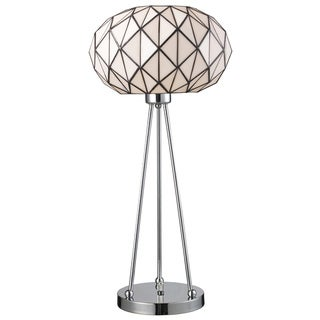 Tiffany-style Landmark Lighting Tetra Table Lamp