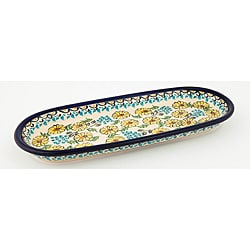 Z.C Boleslawiec Colorful Stoneware Serving Dish (Poland)