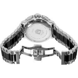 Tag Heuer Women's CAH1212.BA0862 'Formula 1' Black Ceramic Quartz Chronograph Watch