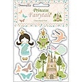 Timecraft 'Princess Fairytale' Clear Stamps (Pack of 5)