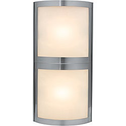 Access Sentinel 2-light Satin Wall Vanity