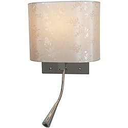 Epiphanie LED Chrome Finish Gooseneck Wall Lamp