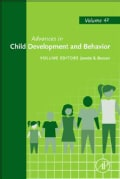 Advances in Child Development and Behavior (Hardcover)