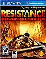 Ps Vita - Resistance: Burning Skies