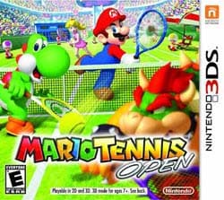 NinDs 3DS - Mario Tennis Open