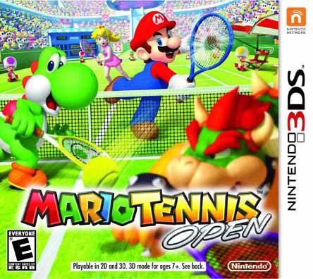 Nintendo 3DS - Mario Tennis Open