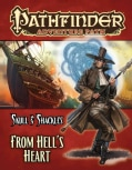 Pathfinder Adventure Path: Skull & Shackles: From Hell's Heart (Paperback)