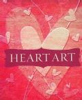 Heart Art: Paper, Stencils, Stamp & More! (Paperback)