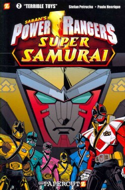 Saban's Power Rangers Super Samurai 2: Terrible Toys (Paperback)